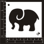 Craft Stencil : Baby Elephant