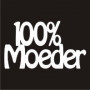 Mini Saying : 100% Moeder