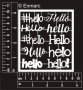 Pocket Letter Chippies : Hello