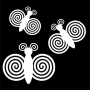 Alliterations : Spiral Butterfly
