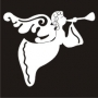 Christmas Element : Angel with Trumpet
