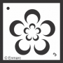 Craft Stencil : Flower