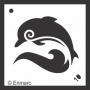 Craft Stencil : Dolphin