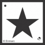 Craft Stencil : Solid Star