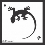 Craft Stencil : Gecko