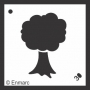 Craft Stencil : Tree