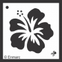 Craft Stencil : Hibiscus