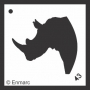 Craft Stencil : Rhino
