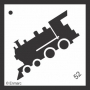 Craft Stencil : Locomotive