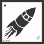 Craft Stencil : Rocket