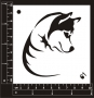 Craft Stencil : Husky