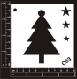 Craft Stencil : Christmas - Xmas Tree