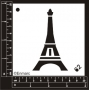 Craft Stencil : Eiffel Tower