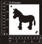 Craft Stencil : Donkey