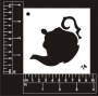 Craft Stencil : Teapot
