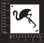 Craft Stencil : Flamingo