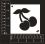 Craft Stencil : Cherries