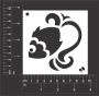Craft Stencil : Fish