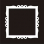 Deco Frame : 12-Scallop Square
