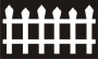 Fences 'n Things : Mini Tattered Picket Fence