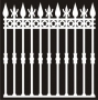 Fences 'n Things : Wrought Iron Fence