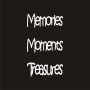 Mini Word Pack : 3 Words - Memories, Moments, Treasures