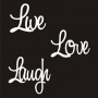 Mini Word Pack : 3 Words - Live, Love, Laugh