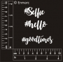 Mini Word Pack : #hello, #selfie, #goodtimes
