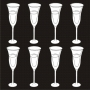 Miniatures : Champagne Glasses