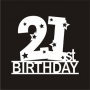 Number Mania : 21st Birthday