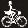 Solo : Lady on Bicycle