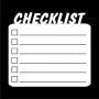 Writer's Block : Checklist