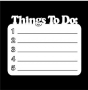 Writer's Block : Things To Do